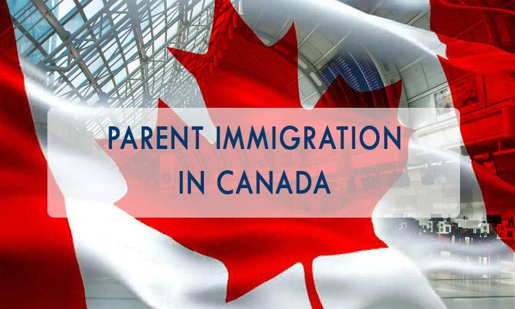 在加拿大的父母移民