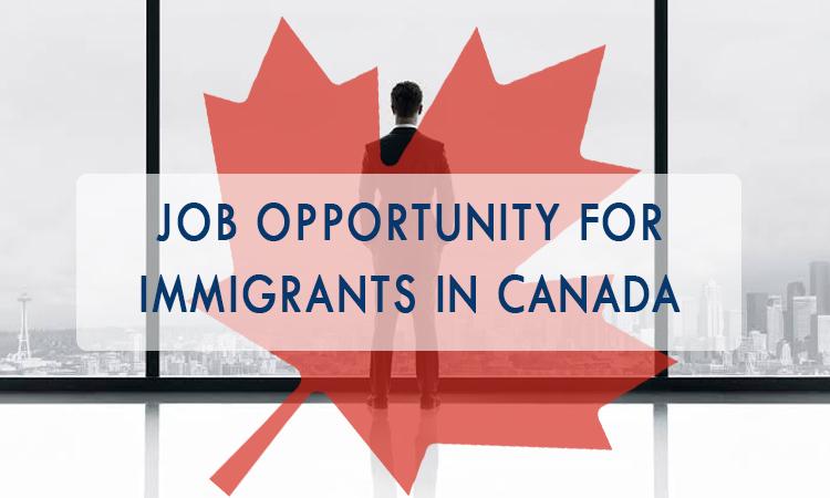 加拿大移民的工作機會