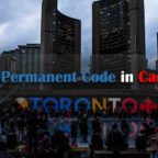 Find my permanent code in Canada