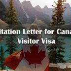 Invitation Letter for Canada Visitor Visa