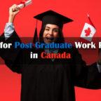 캐나다의 대학원 지원 취업 허가 신청