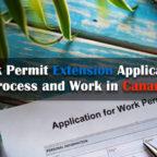 工作許可擴展申請過程和在加拿大的工作