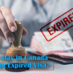 Can I stay in Canada with an expired visa