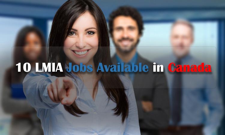 加拿大提供的十大LMIA职位